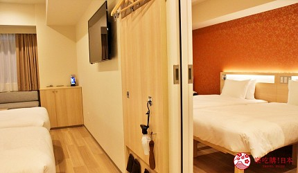 karaksahotel唐草飯店東京店家庭房型連通房連接房