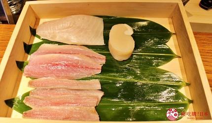 东京推荐天妇罗店「天ぷら きく元」使用的海鲜