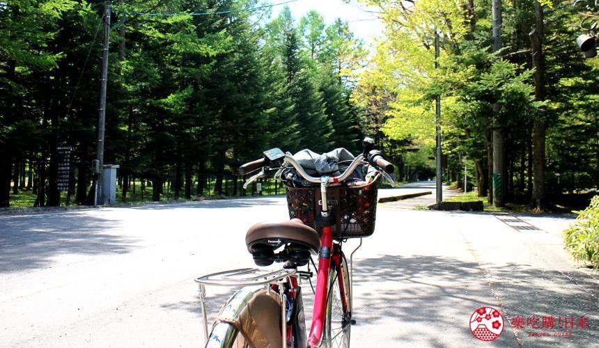 輕井澤自由行一日遊最完整攻略的輕井澤腳踏車示意圖