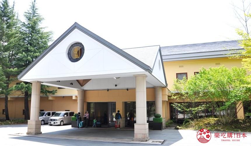 輕井澤自由行一日遊最完整攻略的「輕井澤 Bleston Court」示意圖