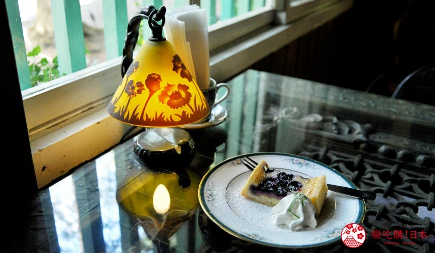 輕井澤一日遊好玩景點推薦的「舊輕井澤 Cafe 涼之音」的餐點