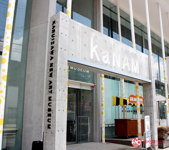 輕井澤一日遊好玩景點推薦的「輕井澤新藝術博物館」外觀