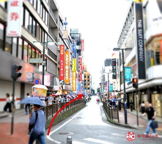 横滨高级寿司店必吃推荐「鮨 七海」的交通方式步骤三