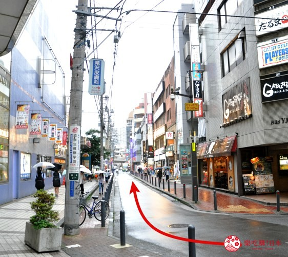 横滨高级寿司店必吃推荐「鮨 七海」的交通方式步骤五