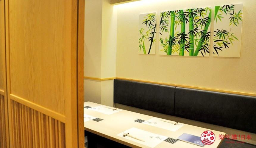 横滨高级寿司店必吃推荐「鮨 七海」的店内包厢座位