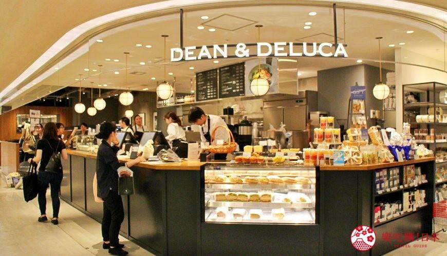 東京成田機場內的DEAN & DELUCA CAFE