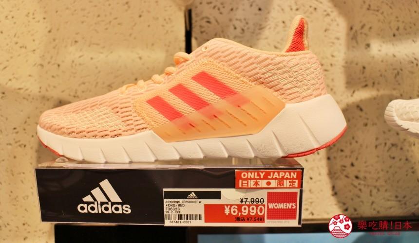 日本東京成田機場內的ABC Mart店內有售的日本限定波鞋運動鞋