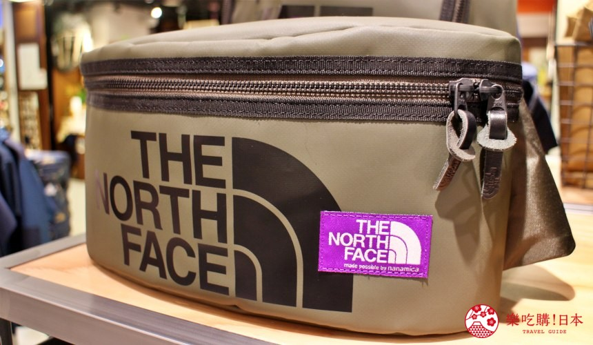THE NORTH FACE EXPLORER推出的日本限定商品上都會有紫色標籤