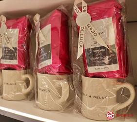 東京成田機場內的DEAN & DELUCA CAFE的東京限定馬克杯咖啡豆