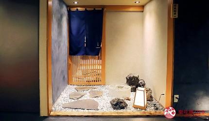 東京推薦高級日本料理店「銀座一」的店家門口