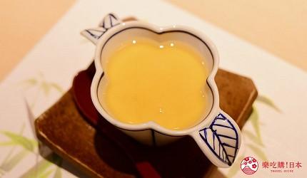 东京滨松町站高级寿司推荐「鮨 佐竹」的「极上おまかせ握りコース」套餐的茶碗蒸