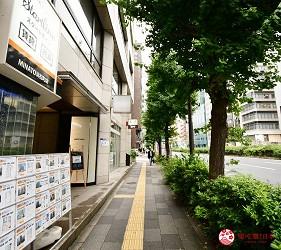大门站前往东京滨松町站高级寿司推荐「鮨 佐竹」的路上景色