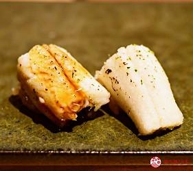 日本東京旅遊銀座高級壽司推薦推介江戶前壽司OMAKASE「鮨ふくじゅ」的星鰻(穴子)