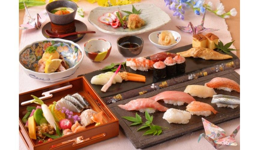 東京上野必吃高級壽司店「すし尽誠」的「おまかせコース」套餐形象圖
