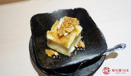 東京上野必吃高級壽司店「すし尽誠」的「おまかせコース」的甜點