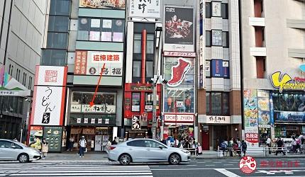 東京上野必吃高級壽司店「すし尽誠」的交通方式步驟二