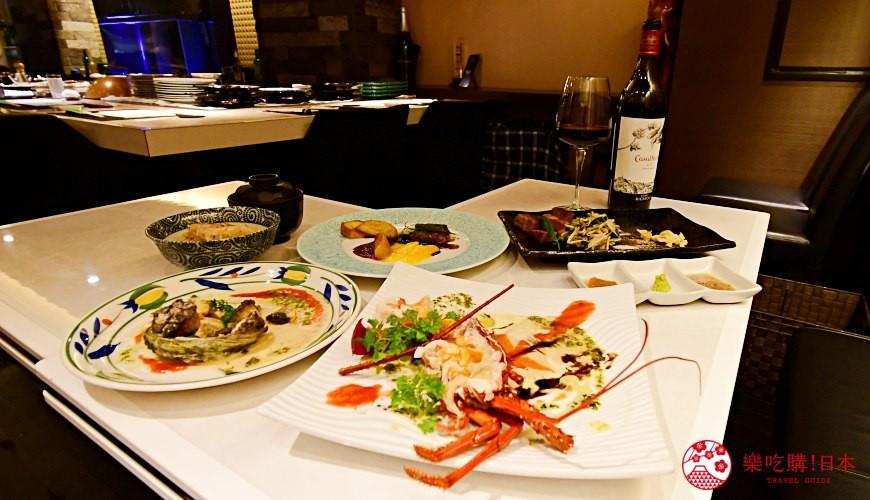 新宿必吃鐵板燒店「湛山」:和牛、龍蝦、鮑魚、鵝肝的豪華套餐只要15,000日圓!