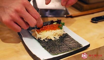 東京推薦高級日本料理店「銀座一」的職人手工製作餐點
