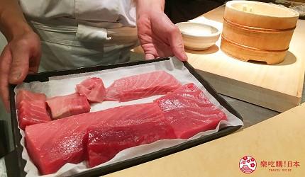 東京高級壽司店推薦「天鮨」的黑鮪魚