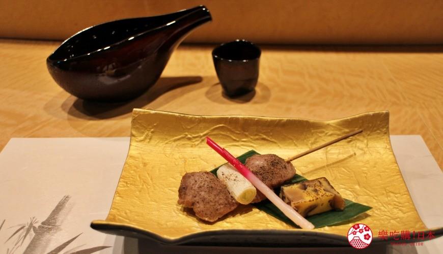 東京高級壽司店推薦「天鮨」的「特上無菜單握壽司+喝到飽套餐」(飲み放題付き、特上おまかせ握りコース)的其他冷盤、熟食