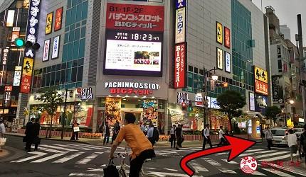 前往東京高級壽司店推薦「天鮨」的交通步驟第二步