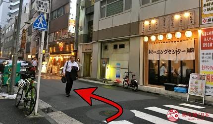 前往東京高級壽司店推薦「天鮨」的交通步驟第三步