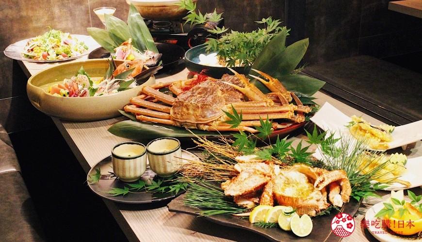 3,000台幣就能吃到豪華螃蟹大餐!上野車站超人氣居酒屋「蟹と海鮮 尊 上野店」