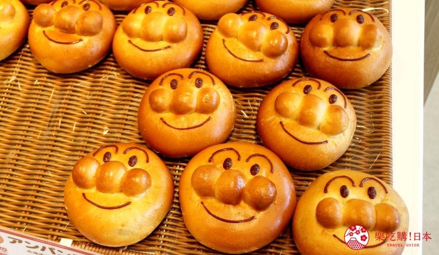 橫濱的麵包超人兒童博物館內有售的麵包超人麵包