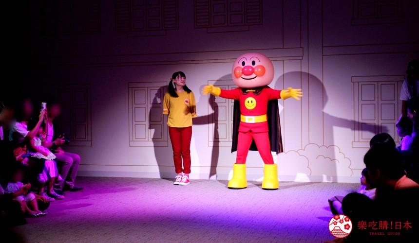 橫濱的麵包超人兒童博物館內的有許多互動活動與表演