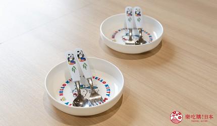 东京上野亲子餐厅推荐じゅらくjuraku聚乐儿童餐具