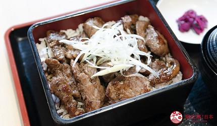 東京上野親子餐廳推薦じゅらくjuraku聚樂烤牛排蓋飯ステーキ重
