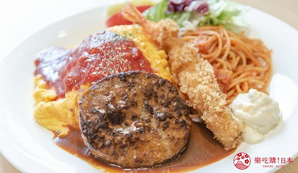 東京上野親子餐廳推薦じゅらくjuraku聚樂大人的兒童餐大人のお子様ランチ