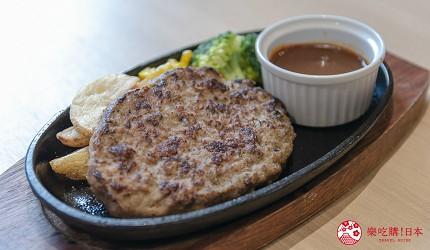 东京上野亲子餐厅推荐じゅらくjuraku聚乐日式牛肉汉堡排ビーフハンバーグステーキ