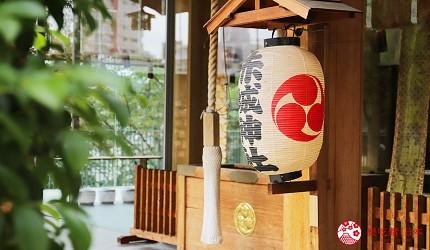 東京神樂坂美食景點推薦赤城神社外觀