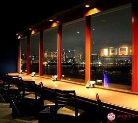 東京夜景景點推薦台場aquacity夜景餐廳redlobster景色
