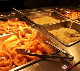 東京夜景景點推薦台場aquacity夜景餐廳theoven西式料理吃到飽食物種類豐富