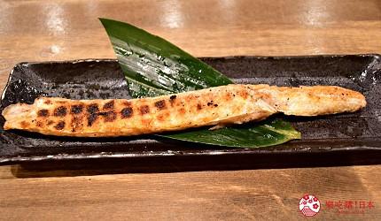 东京秋叶原美食烤鱼干干物专卖店越后屋平次鲑鱼腹干サーモンハラス干し