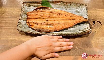 东京秋叶原美食烤鱼干干物专卖店越后屋平次花鱼远东多缐鱼しまほっけ开き