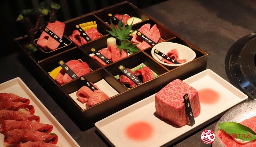 东京烧肉平城苑银座五丁目店黑毛和牛料理