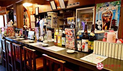 東京上野美食海鮮居酒屋推薦「酒亭じゅらく」上野店店內
