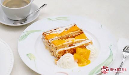東京外苑銀杏周邊景點美食推薦Kihachi芒果拿破侖派甜點
