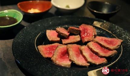 东京A5和牛烧肉平城苑银座五丁目店厚切上等大腿肉块肉上もも