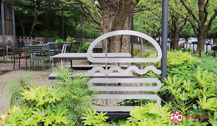 東京shakeshack漢堡外苑銀杏並木店露天座位