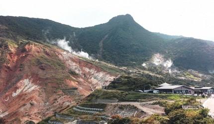 日本箱根的大涌谷