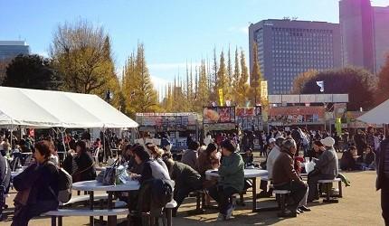 日本東京神宮外苑銀杏祭