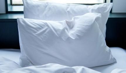 日本東京站附近的DDD HOTEL內的床具都是經反覆研究最符合人體工學的獨家產品