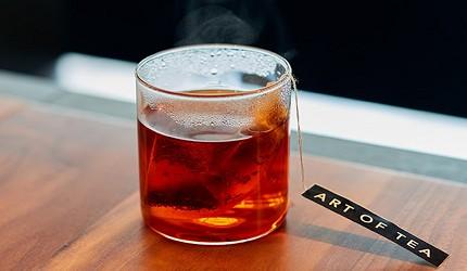 日本交通方便的翻新酒店DDD HOTEL內的cafe有供應美國知名有機茶 ART OF TEA