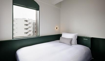 日本距離東京站僅10分鐘的酒店DDD HOTEL內的單人房