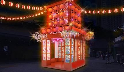 2019年去東京睇燈飾熱點東京巨蛋TOKYO DOME CITY WINTER LIGHTS GARDEN山紫水明的日式風情燈飾