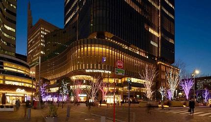 2019年去東京睇燈飾熱點日比谷HIBIYA Magic Time Illumination的外觀